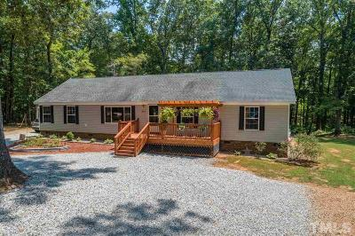 Bullock NC Single Family Home For Sale: $160,000