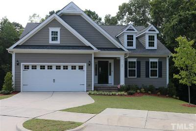 Knightdale Single Family Home For Sale: 83 Wellington Drive