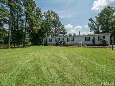 Zebulon Single Family Home For Sale: 364 & 366 Howard Tant Road