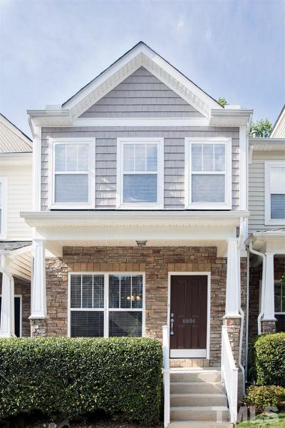 Raleigh Townhouse Contingent: 8806 Orchard Grove Way