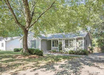 Raleigh Single Family Home Pending: 1604 Lorimer Road