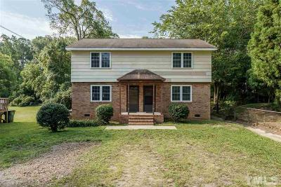 Wake County, Durham County, Orange County Multi Family Home For Sale: 222-224 Waldo Street