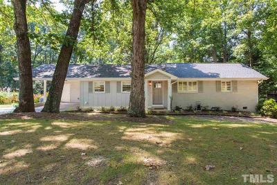 Raleigh Single Family Home Contingent: 417 Northwood Drive
