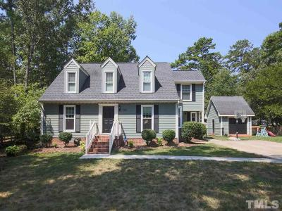 Wake County Single Family Home Contingent: 7505 Old Hundred Road