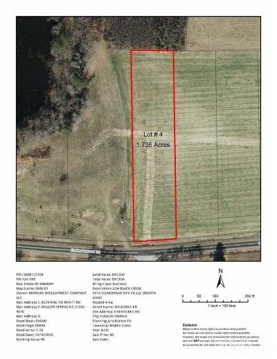 Willow Spring(S) Residential Lots & Land For Sale: 1961 Eddie Howard Road