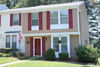 Cary Townhouse Contingent: 112 Candytuff Court