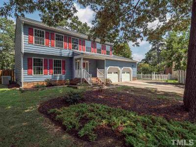 Wake County Single Family Home Contingent: 1901 Grove Point Court