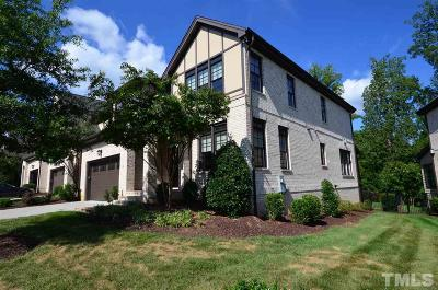 Cary Townhouse For Sale: 1333 Queensferry Road