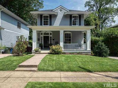 Raleigh Single Family Home For Sale: 516 Cleveland Street