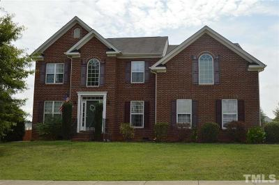 Youngsville Single Family Home Contingent: 15 Leaf Springs Way