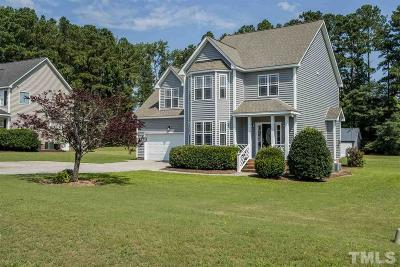 Angier Single Family Home Pending: 77 Coaster Court