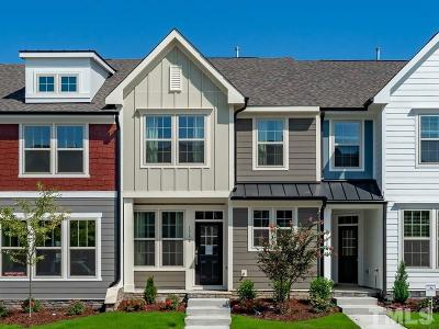 Wendell Townhouse For Sale: 1633 Mallard Trace Drive