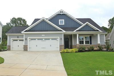 Holly Springs Single Family Home Contingent: 205 Logans Manor Drive