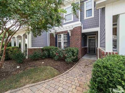 Cary Townhouse For Sale: 2022 Rapid Falls Road