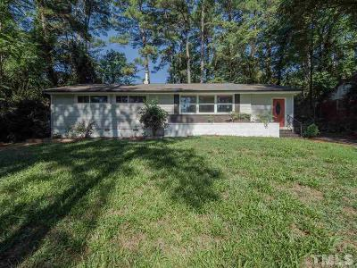 Raleigh Single Family Home For Sale: 1307 Crabapple Lane