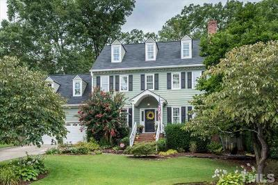 Cary Single Family Home For Sale: 210 Custer Trail