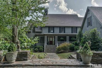 Chatham County Single Family Home For Sale: 2196A Tom Stevens Road