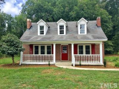 Sampson County Single Family Home For Sale: 9175 Harnett Dunn Highway