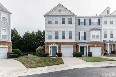 Morrisville Townhouse For Sale: 201 Sutter Gate Drive