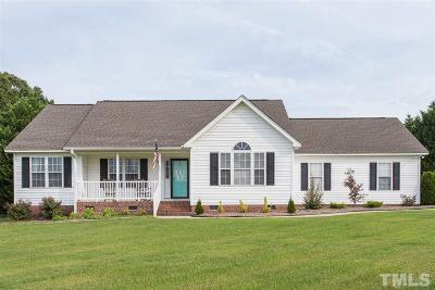 Youngsville Single Family Home Contingent: 25 Raybon Place