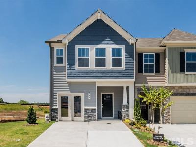 Johnston County Townhouse For Sale: E Porthaven Way #Lot 88