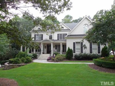 Wake County Single Family Home For Sale: 3748 Knollcreek Drive