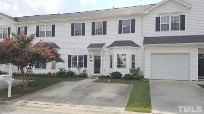 Morrisville Townhouse For Sale: 405 Misty Groves Circle