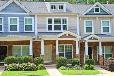 Raleigh, Cary Townhouse For Sale: 8767 Cypress Grove Run