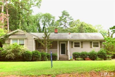 Wake County Single Family Home For Sale: 2948 Claremont Road