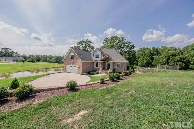 Zebulon Single Family Home For Sale: 2109 Winslowe Farm Drive