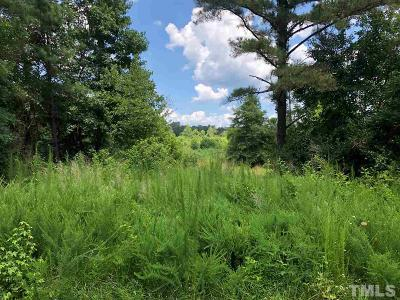 Chatham County Residential Lots & Land For Sale: Emerson Cook Road