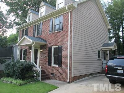 Cary Single Family Home Contingent: 212 Heidinger Drive