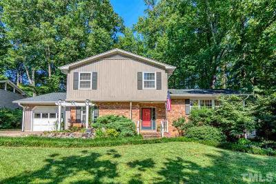 Raleigh Single Family Home Contingent: 4125 Redington Drive