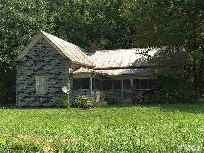 Chatham County Single Family Home Pending: 2091 Ike Brooks Road