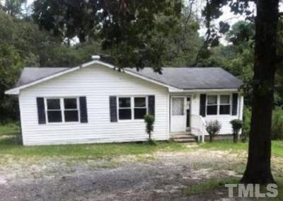 Harnett County Single Family Home For Auction: 22438 Nc 24 27 Highway