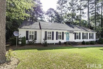 Nash County Single Family Home For Sale: 3829 Gloucester Road