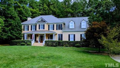 Wake County Single Family Home For Sale: 5921 Wild Orchid Trail