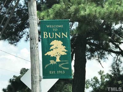 Franklin County Residential Lots & Land For Sale: 840 Bunn Elementary School Road