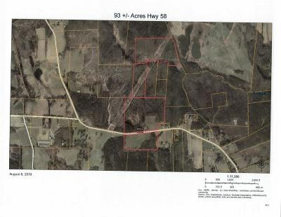 Franklin County Residential Lots & Land For Sale: 1346 Nc 58 Highway