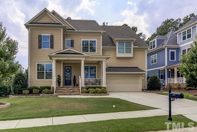 Apex Single Family Home Contingent: 133 Ironcreek Place