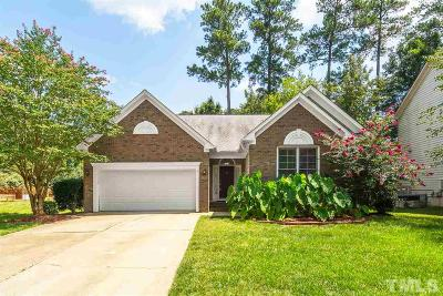 Cary Single Family Home Contingent: 101 Stokesay Court