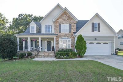 Rolesville Single Family Home Contingent: 322 Staples Drive
