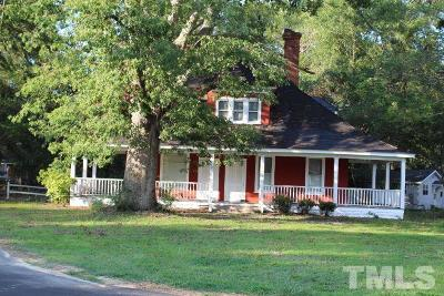 Zebulon Single Family Home For Sale: 207 E Sycamore Street