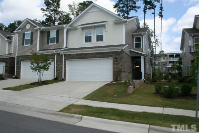 Cary Townhouse For Sale: 1531 Glenwater Drive