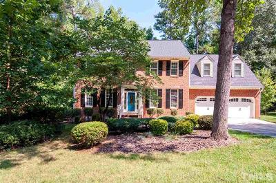 Raleigh Single Family Home Contingent: 1105 Vestavia Woods Drive