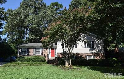 Wake County Single Family Home For Sale: 5219 Knollwood Road