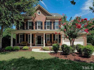Holly Springs Single Family Home For Sale: 613 Wescott Ridge Drive