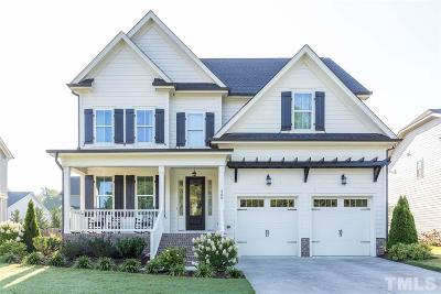 Wake Forest Single Family Home Contingent: 208 Traditions Garden Lane
