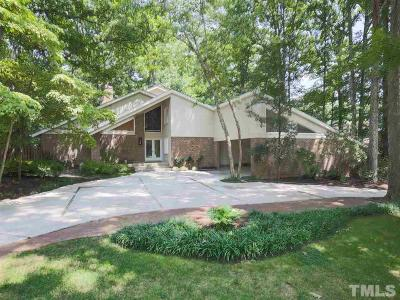 Raleigh Single Family Home Contingent: 3140 Sussex Road