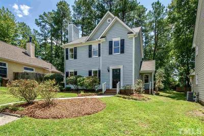 Cary Single Family Home Contingent: 102 Romaine Court